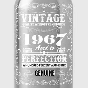Premium Vintage 1967 Aged To Perfection T-Shirts - Water Bottle