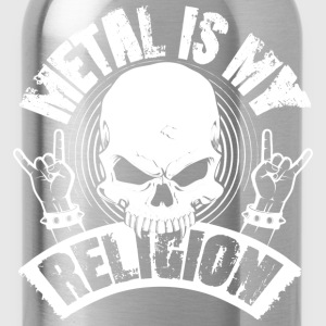 METAL IS MY RELIGION - Trinkflasche