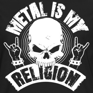 METAL IS MY RELIGION - Männer Premium Langarmshirt