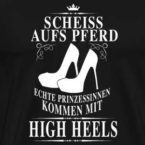 high heels power Manches longues - T-shirt Premium Homme