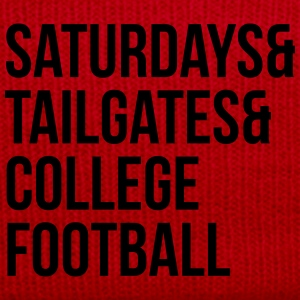 Saturdays & tailgates & college football Tee shirts - Bonnet d'hiver