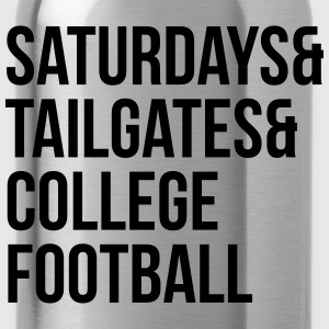 Saturdays & tailgates & college football Tee shirts - Gourde