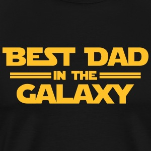 Best Dad in the Galaxy Sportbekleidung - Männer Premium T-Shirt