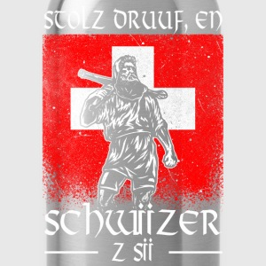 Tell - Schwiizer - Stolz Long Sleeve Shirts - Water Bottle