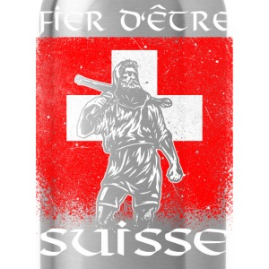 Tell - Suisse - Fier T-Shirts - Trinkflasche