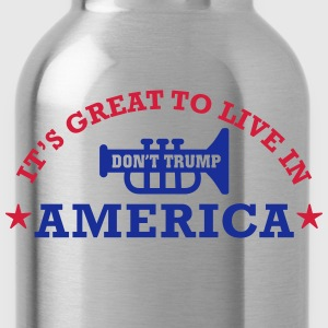 america_is_great Long sleeve shirts - Water Bottle