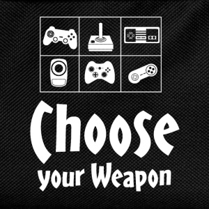 Choose your Weapon Gamer - Kinder Rucksack