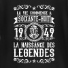 1949 - 68 ans - Légendes - 2017 Tee shirts manches longues Bébés - T-shirt manches longues Bébé