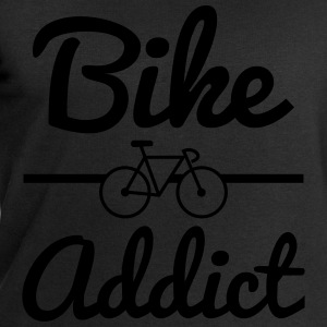 Bike addict, tee shirt humour,vélo,cyclisme  - Sweat-shirt Homme Stanley & Stella