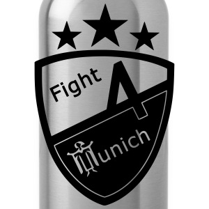 Fight 4 Munich - Logo - Trinkflasche
