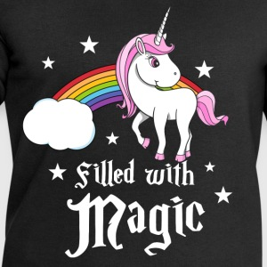 Unicorn - Filled with Magic T-shirts - Sweatshirt herr från Stanley & Stella