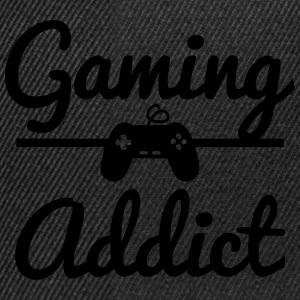 Gaming Addict T-Shirts - Snapback Cap