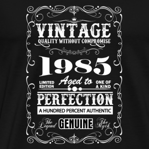 Premium Vintage 1985 Aged To Perfection Mugs & Drinkware - Men's Premium T-Shirt