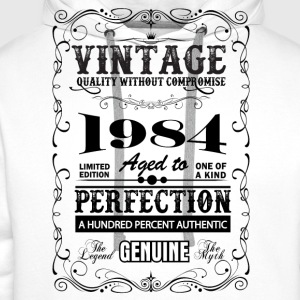 Premium Vintage 1984 Aged To Perfection T-Shirts - Men's Premium Hoodie
