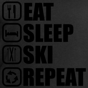 Eat,sleep,ski, tee shirt ski  - Sweat-shirt Homme Stanley & Stella