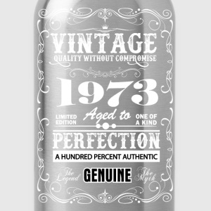 Premium Vintage 1973 Aged To Perfection T-Shirts - Water Bottle
