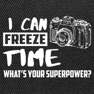 I can freeze time! What's your supernatural ability? T-Shirts - Snapback Cap