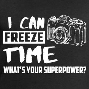 I can freeze time! What's your supernatural ability? T-Shirts - Men's Sweatshirt by Stanley & Stella