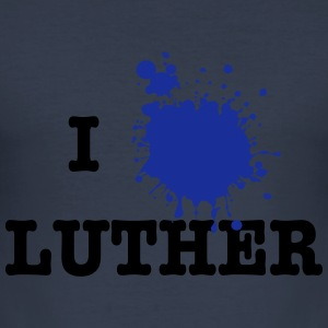 I Love Luther (Martin Luther) Sweaters - slim fit T-shirt