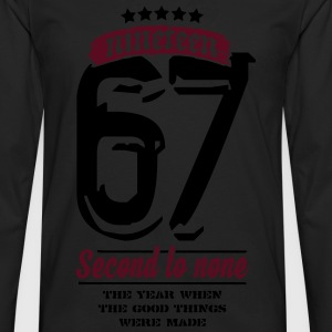 1967 - Second to None T-Shirts - Men's Premium Longsleeve Shirt