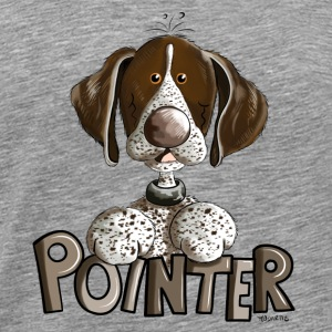 Sweet German Shorthaired Pointer Other - Men's Premium T-Shirt