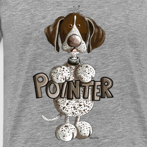 Happy German Shorthaired Pointer Other - Men's Premium T-Shirt