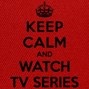 Keep calm and watch tv series T-Shirts - Snapback Cap