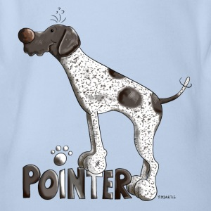 Cute German Shorthaired Pointer Shirts - Organic Short-sleeved Baby Bodysuit