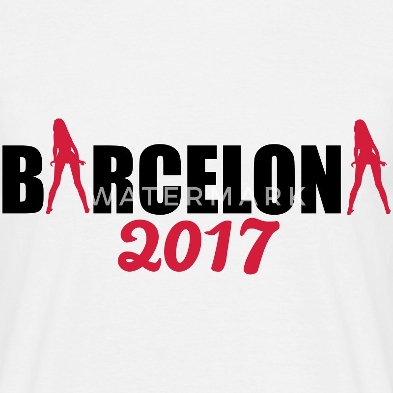 Barcelona 2017 T-Shirts - Men's T-Shirt