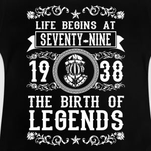 1938 - 79 years - Legends - 2017 Shirts - Baby T-Shirt