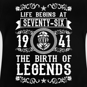 1941 - 76 years - Legends - 2017 Shirts - Baby T-Shirt