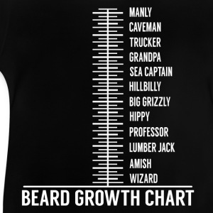 Beard growth scale Shirts - Baby T-Shirt