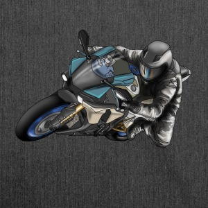 motorcycle Magliette - Borsa in materiale riciclato
