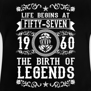 1960 - 57 years - Legends - 2017 Shirts - Baby T-Shirt