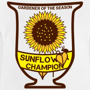 Gardener of the season - Sunflower Pokal T-Shirts - Baby T-Shirt
