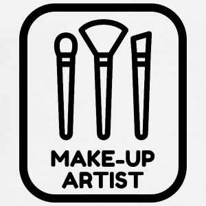 Make-up Artist Schminke Maquillage Maquilleuse Mugs & Drinkware - Men's Premium T-Shirt