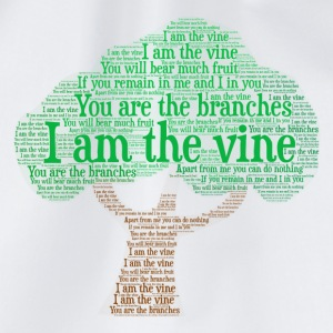 I Am The Vine from Jesus Teaching - Drawstring Bag