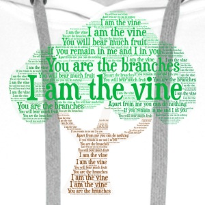 I Am The Vine from Jesus Teaching - Men's Premium Hoodie