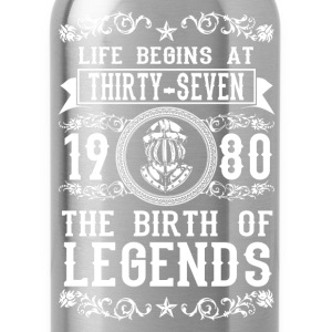 1980 - 37 years - Legends - 2017 Shirts - Water Bottle