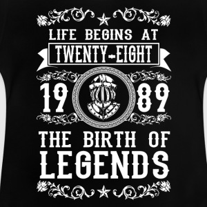 1989 - 28 years - Legends - 2017 Shirts - Baby T-Shirt