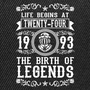 1993 - 24 years - Legends - 2017 Hoodies & Sweatshirts - Snapback Cap