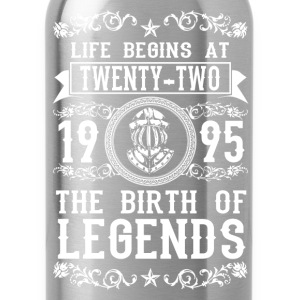 1995 - 22 years - Legends - 2017 T-shirts - Drinkfles