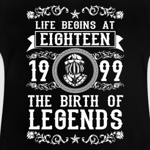1999- 18 years - Legends - 2017 Shirts - Baby T-Shirt
