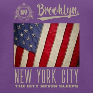 New York City Brooklyn - Frauen Premium Tank Top