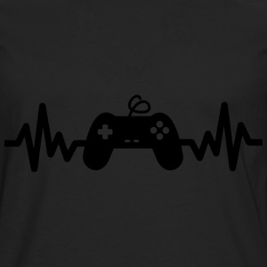 gaming is life, geek,gamer,nerd  - Männer Premium Langarmshirt