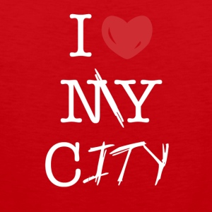 i love my city - Men's Premium Tank Top
