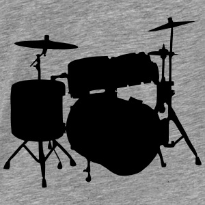 Drums Tops - Mannen Premium T-shirt
