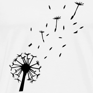 Flying Dandelion Hoodies & Sweatshirts - Men's Premium T-Shirt