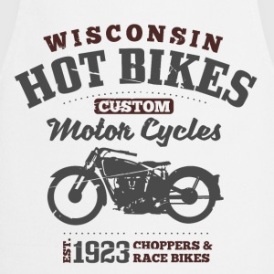 Wisconsin Hot Bikes  T-shirts - Keukenschort