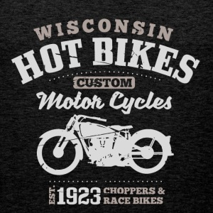 Wisconsin Hot Bikes  T-skjorter - Premium singlet for menn